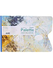 Watercolour Tools 25 Sheets Disposable Professional Gouache Oil Painting Pad White Paper