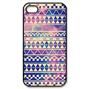 Aztec Tribal Pattern Use Your Own Image Phone Case for Iphone 4,4S,customized case cover ygtg537398