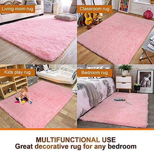home, kitchen, home décor, area rugs, runners, pads,  area rugs 4 discount Noahas Super Soft Modern Shag Area Rugs Fluffy deals