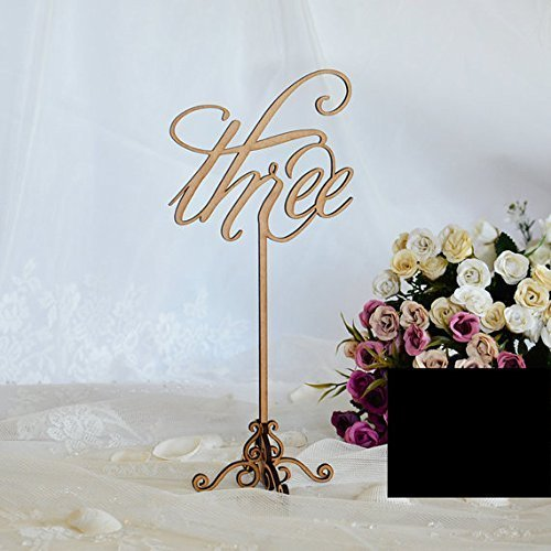 Wedding table numbers, table numbers, gold table numbers, rustic wedding, wedding decor, table decor, rustic table numbers, table numbers on sticks, wooden table numbers