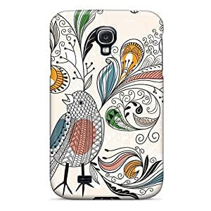 Sanp On Case Cover Protector For Galaxy S4 (bird Plumage) by icecream design