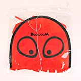 Booooom Mini Red Octopus Kite With Flying Winder Easy Flying Kite Beach Kite With 10-inch Width and 82-inch Length