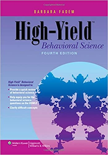amazon high yield behavioral science high yield series barbara