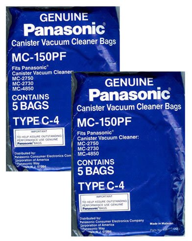 Amazon.com: Panasonic mc-150pf Repuestos bolsas de ...
