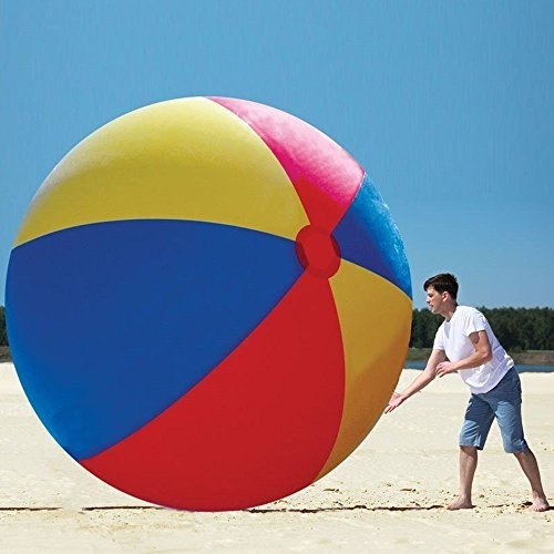 12 ft inflatable giant ball monster for playing on beach or lawn + 1 Million Bill bonus by DUI