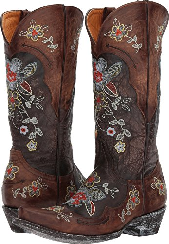 Old Gringo Women's Bonnie 13'' Relaxed Fit Chocolate/Brass 7.5 B US by Old Gringo (Image #3)