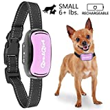 Training Dog Collar - Small Rechargeable Dog Bark Collar For Tiny To Medium Dogs by GoodBoy Waterproof And Vibrating Anti Bark Training Device That Is Smallest & Most Safe On Amazon - No Shock No Spiky Prongs! ( 6+ lbs )