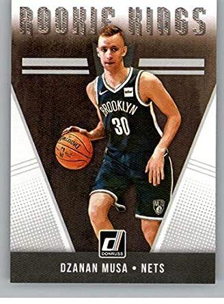 47350af16 2018-19 Donruss Rookie Kings Basketball Insert  3 Dzanan Musa Brooklyn Nets  Official NBA