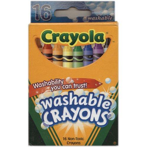 Crayola Ultra-Clean Washable Crayons 16 Each