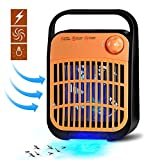 BESYOYO Electric Bug Zapper and Fly Zapper Killer,Insect Killer Mosquito Eliminator with UV Light Trap Catcher for Residential and Commercial Use