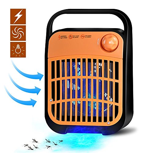 BESYOYO Electric Bug Zapper and Fly Zapper Killer,Insect Killer Mosquito Eliminator with UV Light Trap Catcher for Residential and Commercial Use by BESYOYO