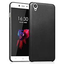 Ultra Slim PU Leather Skin Case for OnePlus X Protective Covers Shell for OnePlus X 5.0 inch(Black)