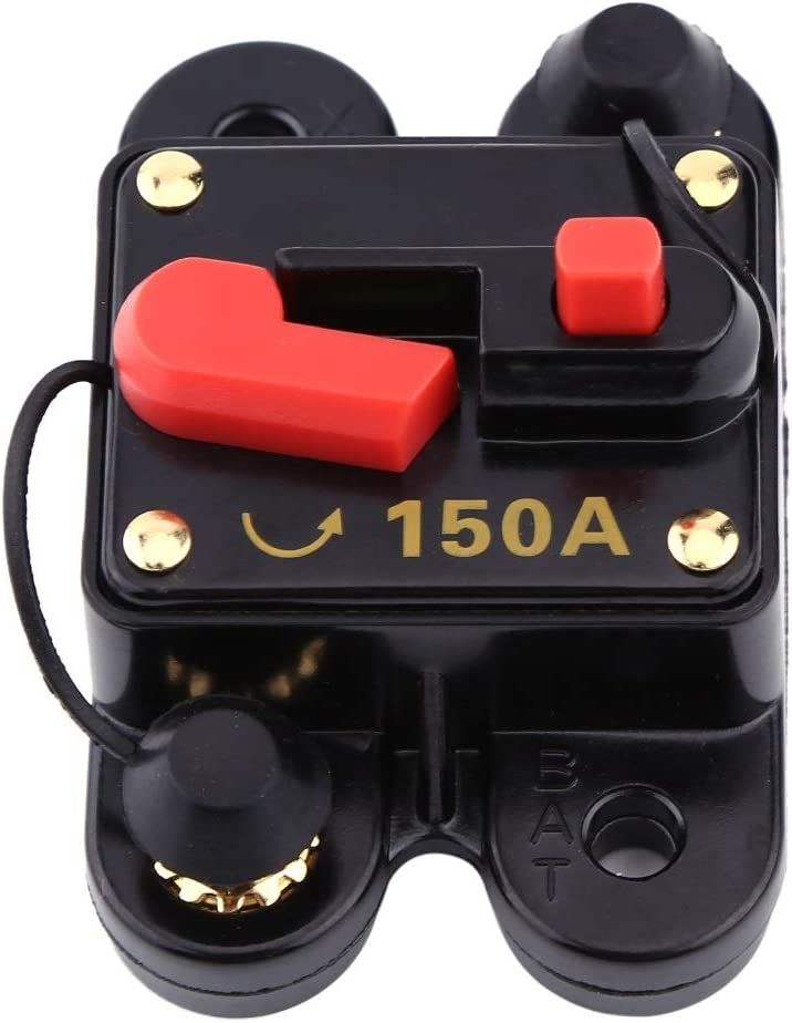 型号 : 80A Disjoncteur en Alliage BiuZi DC12V Disjoncteur Disjoncteur 80 X 52 X 40mm 80A 100A 150A 200A 300A
