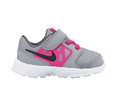 Amazon.com | New Nike Baby Girl's Downshifter 6 Athletic Shoe Grey/Pink 9 |  Sneakers