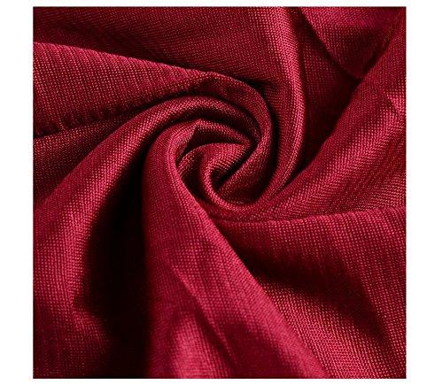 vestido damas mujeres CD Gasa de Rojo fiesta noche vestido honor de Full CC cóctel Medium formal HCYW5H