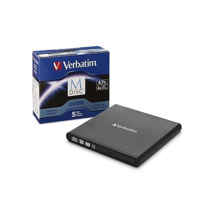 Amazon.com: Verbatim External Slimline Blu-Ray Writer ...