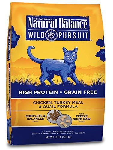 Natural-Balance-Wild-Pursuit-High-Protein-Grain-Free-Dry-Cat-Food-Chicken-Turkey-Meal-Quail-Formula-10-Pound