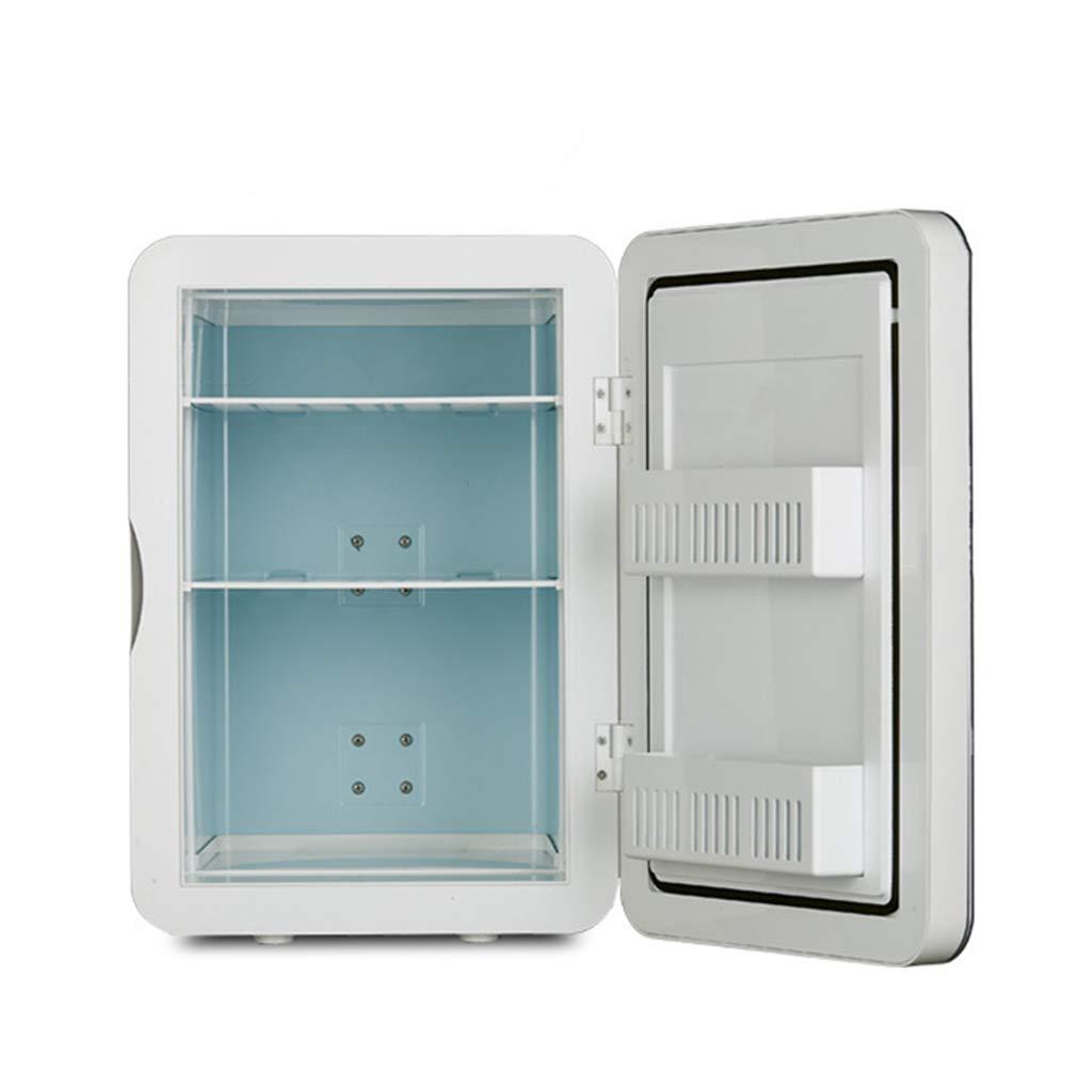 20 Litros De Doble N/úCleo Del Refrigerador Del Autom/óVil Port/áTil Del Hogar De Doble Uso Del Calentador Dc12v 15 Latas Ac220v De Enfriamiento R/áPido De 550 Ml