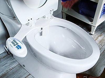 Bidet Buddy Clean Fresh Bathroom Bidet System Built in Night Light Toilet Seat Water Electric
