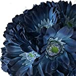 TheBridesBouquetcom-Blue-Daisy-Wedding-Bouquet-Silk-Bridal-Flowers-18-stem