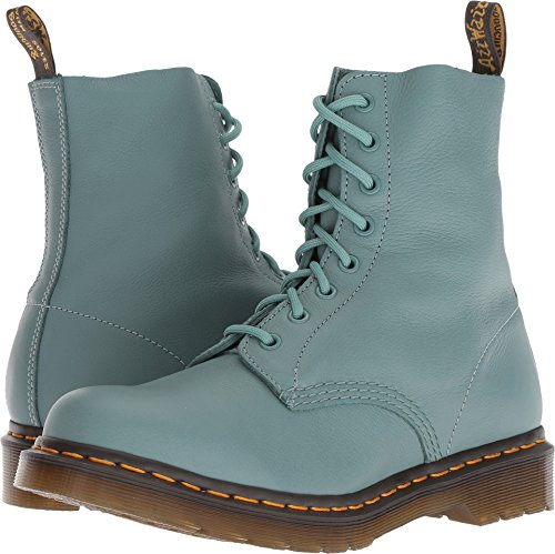 - Dr. Martens Women's 1460 Pascal Mid Calf Boot, Pale Teal, 6 M UK (8 US)