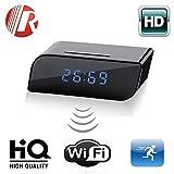 HD WIFI SPY DVR Hidden Camera Mini 720P Spy Camera Clock Night Vision Detection Motion Camcorder