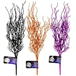 14-Inch-Glittery-Halloween-Branches-Purple-Orange-and-Black-Set-of-3