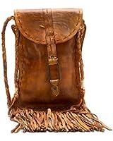 Bed Stu Women's Sandy Lane Fringed Crossbody Bag