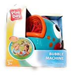 Play Day Blue Bubble Blowing Machine Toy