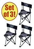 Set of 3 – GCI QUIK-E-SEAT Stool with Padded Back