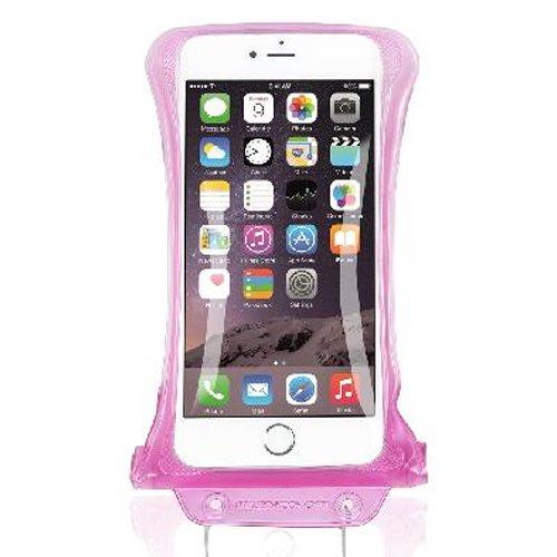 """DiCAPac t?l?phone cellulaire intelligent sous-marine Sport Outdoor Case Sac ?tanche WP-C2 Rose (4.13 x 6.49 """") avec sangle"""