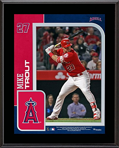 (Mike Trout Los Angeles Angels 10.5