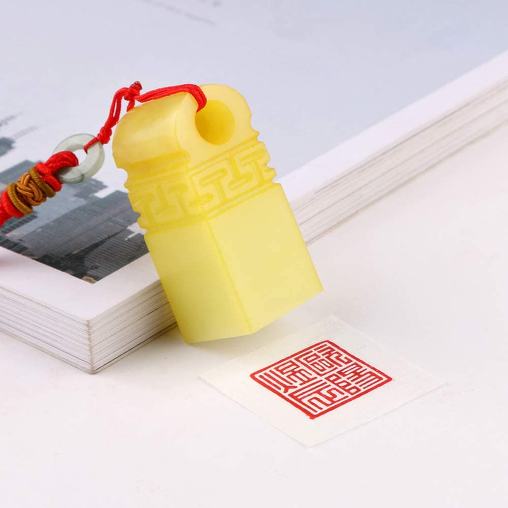 Wealth Animal Stone Stamp Chinese Seal Customized Chinese Name Hanko Carve Signature Chop for Calligraphy and Painting E739