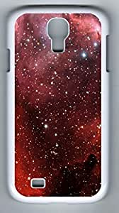 iCustomonline Millions Of Stars Back Cover Case For Samsung Galaxy S4 I9500 White