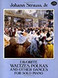 img - for Favorite Waltzes, Polkas and Other Dances for Solo Piano (Dover Music for Piano) book / textbook / text book