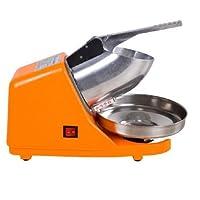 Machine de fabrication de cône de neige à broyeur à glace électrique en acier inoxydable 300W 220V