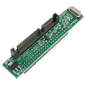 BuyinCoins - Adaptador de disco duro SSD IDE hembra a SATA 7+15 pines