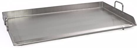 """32/"""" x 17/"""" Griddle Flat Top Grill Kitchen Triple Burner Cookware Stainless Steel"""