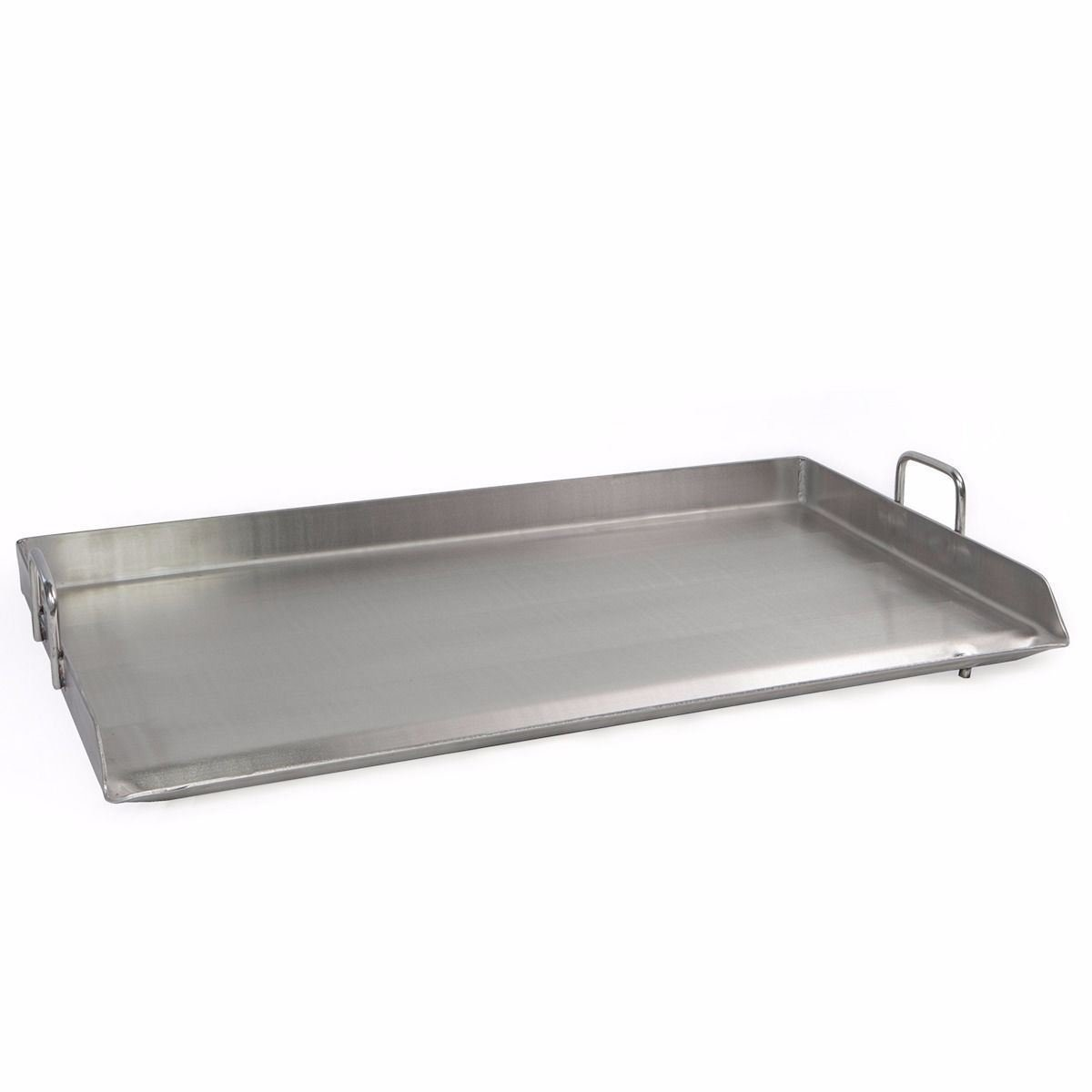 New 32x17 Stainless Steel Comal Flat Top BBQ Cooking Griddle For double Stove
