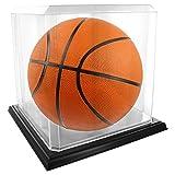 Acrylic Basketball Display Case - Black Base