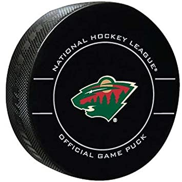 reputable site b5fd3 e1526 NHL Minnesota Wild Official Game Puck, Hockey Pucks - Amazon Canada