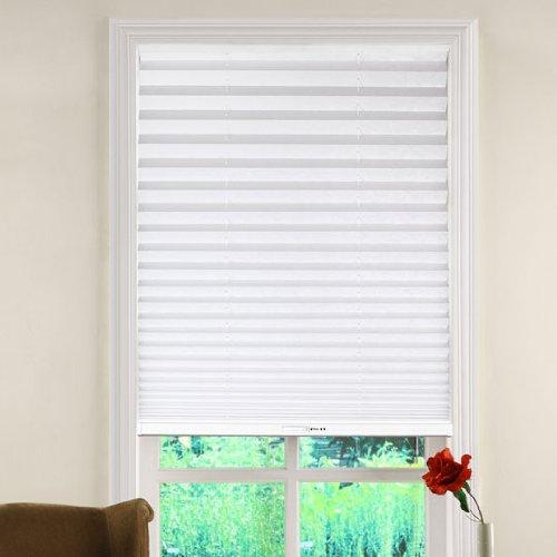 light filtering white 29x64 shade budget window blinds. Black Bedroom Furniture Sets. Home Design Ideas