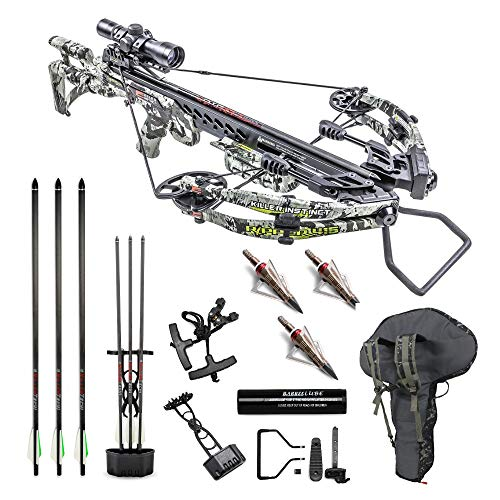 Killer Instinct Crossbows Ripper 415 FPS Crossbow...