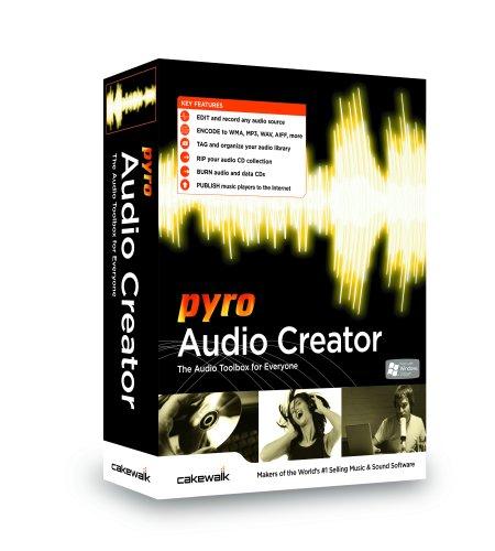(Cakewalk Pyro Audio Creator )
