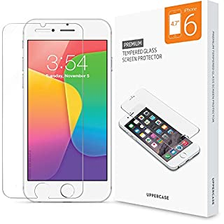 pretty nice 4cc86 24384 iPhone 6 Screen Protector 2 Pack, UPPERCASE Premium Tempered Glass ...
