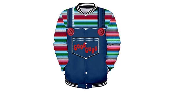 Good Guys Chucky Pullover Trend Wild Fashion Coat Primavera y ...