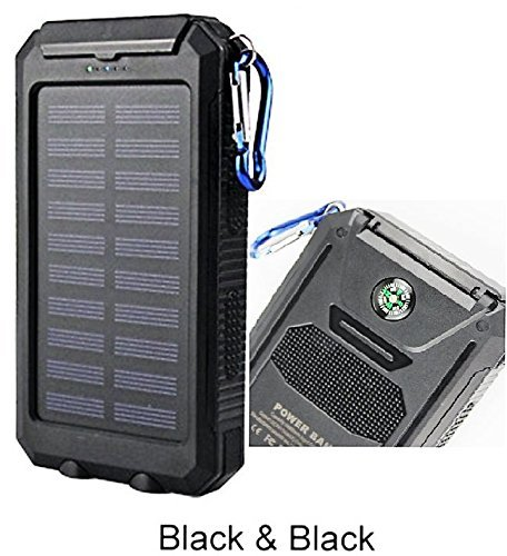 Waterproof 300000mAh two times USB easily transportable Solar Battery Charger Solar electric power Bank KB Chargers electric power Adapters