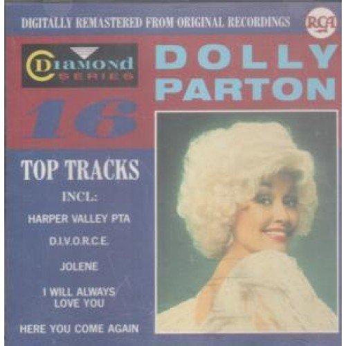 DOLLY PARTON - 16 Top Tracks Cd Austrian Rca 1988 - Zortam Music