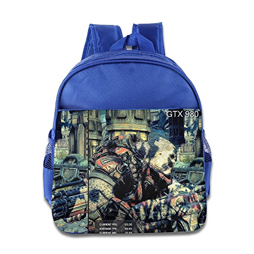 Price comparison product image Comics Superheroes Gears Of War Little Kids School Backpack Bag RoyalBlue