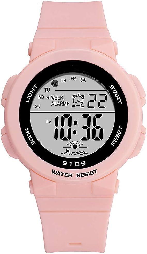 Amazon.com: Reloj Deportivo para Mujer, Mujer y Niña Reloj ...